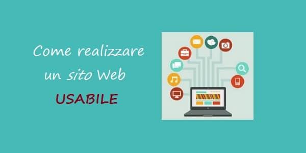 come realizzare un sito web usabile