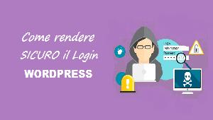 rendere sicuro login wordpress