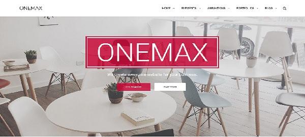 tema onemax responsive wordpress