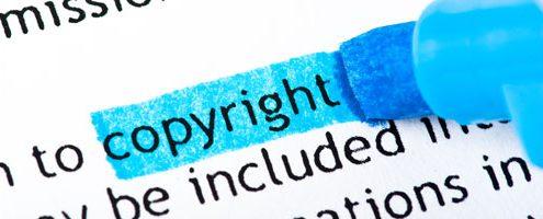 come inserire copyright