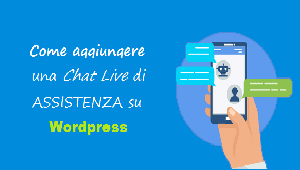 aggiungere chat assistenza wordpress