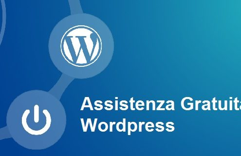 assistenza gratuita wordpress