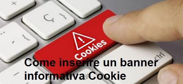 banner informativa cookie