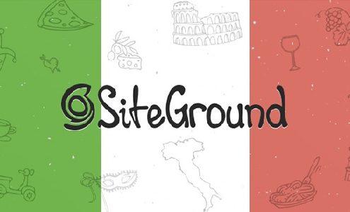 siteground supporto in italiano