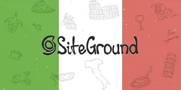 siteground supporto in italiano