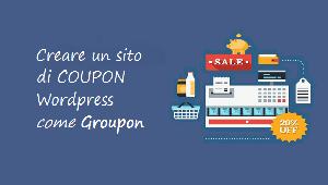creare un sito come groupon