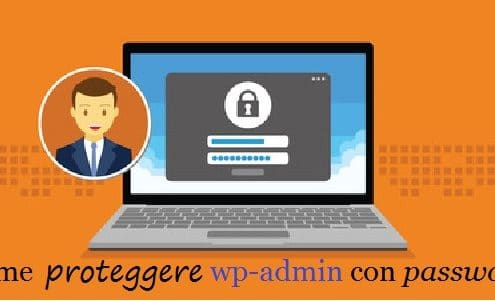 proteggere wp-admin con password