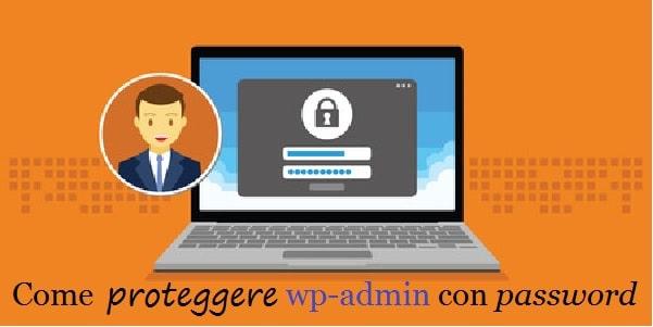 proteggere wp-admin con password