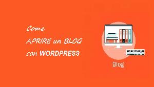 come aprire un blog su wordpress