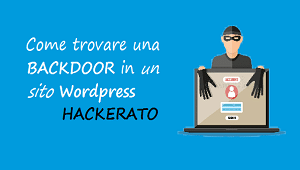 come trovare backdoor in un sito wordpress