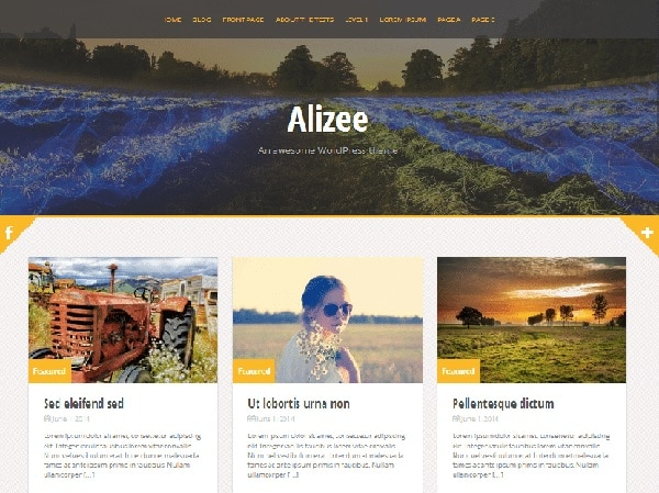 alizee temi wordpress gratuiti