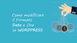 come modificare formato data e ora