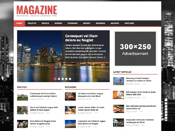 mh magazine tema wordpress gratuito