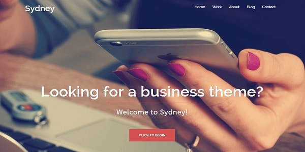 sidney tema gratuito wordpress