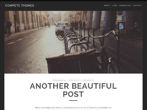 tracks tema wordpress gratis