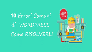 errori wordpress