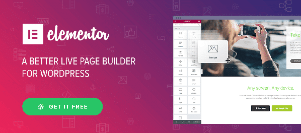 elementor plugin drag and drop page builder