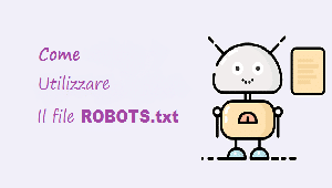 utilizzare file robots.txt
