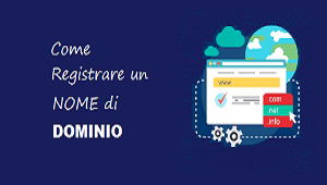 come registrare nome di dominio