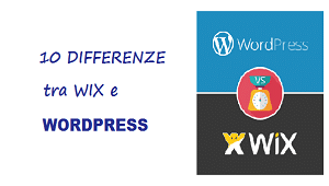 differenze tra wix e wordpress