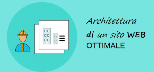 architettura ottimale sito web