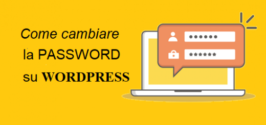 cambiare la password